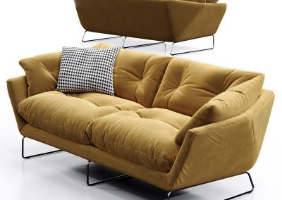 Saba Italia New York Suite Sofa 01